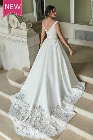 taffeta and lace wedding dresses gloucester2021_romantica_miriam