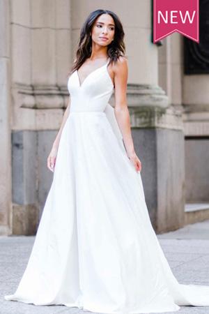 7211 Taffeta-and-lace-wedding-dresses Gloucester
