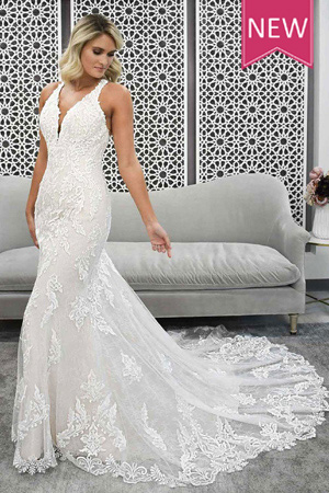 7261-Taffeta-and-lace-wedding dresses Gloucester