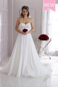 Taffeta-and-Lace-Wedding-Dresses House of Nicholas 2526