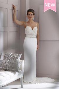 Taffeta-and-Lace-Wedding-Dresses House of Nicholas 2533