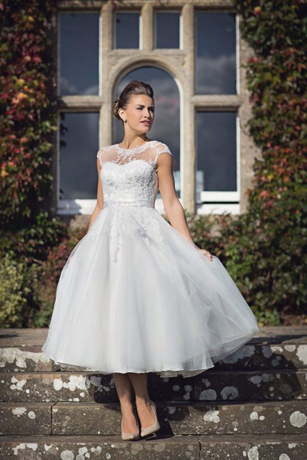 house of nicholas 2026 high neck t length wedding dress