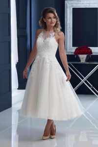 taffeta and lace wedding-dresses-gloucester-house-of-nicholas-2204-Front