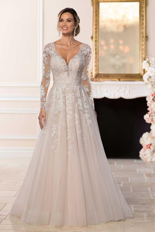 Stella york 6436 affordable romantic wedding dress for Affordable dresses for wedding