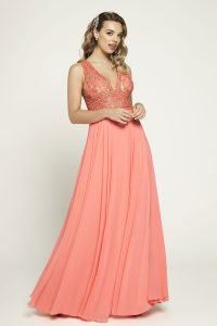 Taffeta and Lace Prom Dresses Gloucester Romantica 2020_prom_a148-001