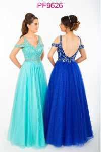 Taffeta and Lace Gloucester Prom dresses