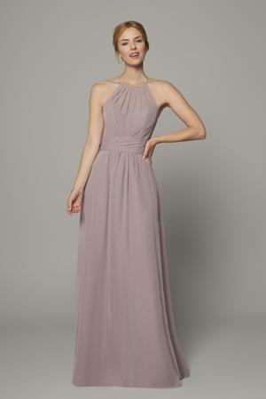 taffeta and lace Gloucester bridesmaid dresses