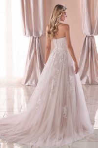 Taffeta and Lace wedding dresses Gloucester Stella York 6745-2