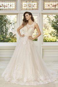 Taffeta and Lace wedding dresses Gloucester Sophia Tolli Y11948_Lookbook_D02_1079