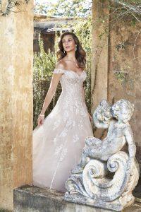 Taffeta and Lace wedding dresses Gloucester Sophia Tolli Y11949_Campaign_D02_114