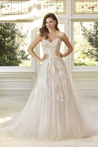 Taffeta and Lace wedding dresses Gloucester Sophia Tolli Y11949_Lookbook_D03_467