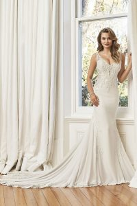 Taffeta and Lace wedding dresses Gloucester Sophia Tolli Y11950_Lookbook_D01_608 (2)