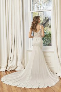 Taffeta and Lace wedding dresses Gloucester Sophia Tolli Y11950_Lookbook_D01_748