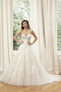 Taffeta and Lace wedding dresses Gloucester Sophia Tolli Y11953_Lookbook_D02_114