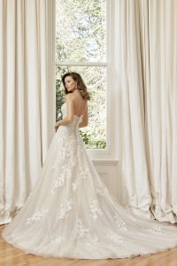 Taffeta and Lace wedding dresses Gloucester Sophia Tolli Y11953_Lookbook_D02_192