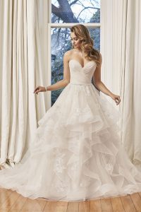 Taffeta and Lace wedding dresses Gloucester Sophia Tolli Y11958_Lookbook_D01_956