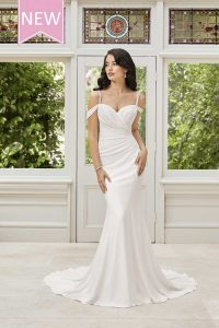 Taffeta and Lace wedding dresses Gloucester Sophia Tolli Ines