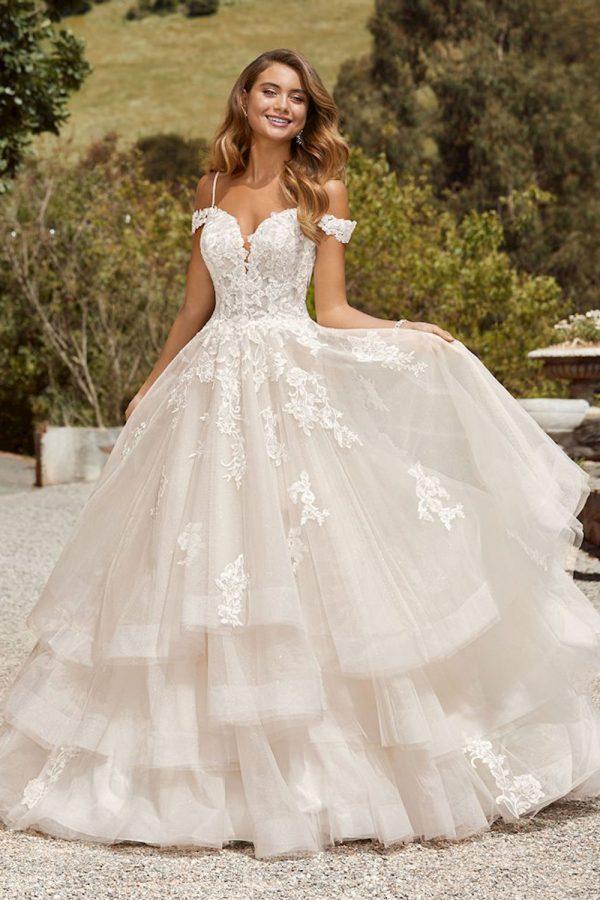 taffeta and lace wedding gowns Gloucester Sophia Tolli
