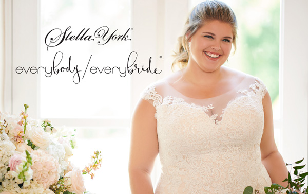 Taffeta and Lace Trunk show Stella York Everybody Everybride