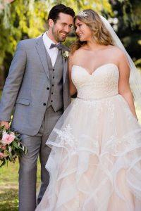 Taffeta and Lace wedding dresses Gloucester Stella York EBEB 6432ad2