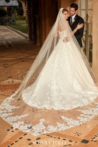Taffeta and Lace Wedding Dresses Gloucester Alessandra-Style-Y12024