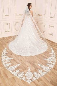 Taffeta and Lace Wedding Dresses Gloucester Alessandra-Style-Y12024-5