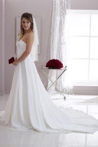 Taffeta and Lace Wedding Dresses Gloucester 2526-S-RT