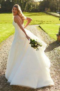 Taffeta and Lace wedding dresses Gloucester 2020_romantica_kirsten