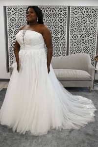 taffeta and lace plus size wedding dresses gloucester