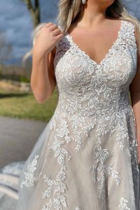 taffeta and lace wedding dresses gloucester plus size