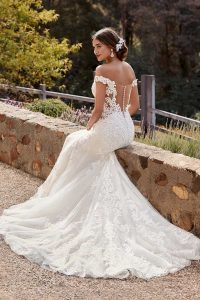 taffeta and lace wedding dresses gloucester sophia tolli y22048__ivory__vanilla_b